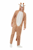 Kuscheliger Giraffen Jumpsuit für Erwachsene