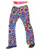 70s Pants Bubbles Blue