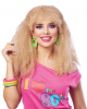 80s Crimped Wig Blond
