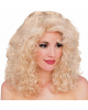 Curly Wig Blond Deluxe