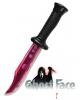 Blutig gefülltes Scream Messer