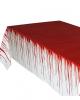 Blutverschmierte Tischdecke 137 x 275 cm