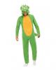 Dinosaurier Jumpsuit Kostüm für Erwachsene