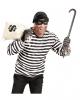 3-tlg. Einbrecher Kostüm