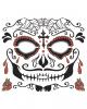 Face Tattoo Sugar Skull Male