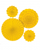 Fan Deco Set Yellow