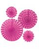 Fan Deco Set Pink