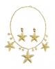 Golden Mermaid Jewellery Set As Costume Accessory