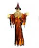 Hängende Vogelscheuche Orange 150 cm