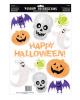 11-piece Halloween Glitter Sticker Set