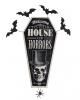 Halloween House Of Horrors Door Sign Decoration