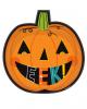 Halloween Teller in Kürbis Form 8 St.