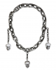 Executioner Necklace With Skulls