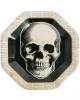 Hipster Skull Paper Plate 8 Pcs.
