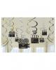 Hollywood Swirl Deco 12 Pieces