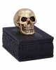 Celtic Box With Golden Skull