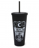 KILLSTAR Witches Potion Cold Brew Becher