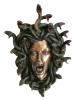 Kopf der Medusa Wandrelief