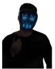 Glowing LED Mask Blue - White