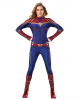 Captain Marvel Jumpsuit Ladies Costume