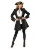 Pirate Captain Costume Coat For Ladies