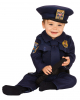 Polizei Kleinkinderkostüm