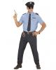 Policeman Men Costume 5 Pcs.