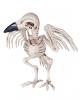 Raben Skelett Halloween Figur 19 cm