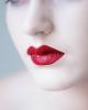 Roter Lippenstift