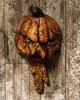 Rotting Pumpkin Mural With Movement