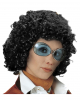 70s Curly Wig Beatrice - Black
