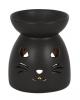 Black Cat Fragrance Oil Lamp