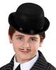 Schwarzer Bowler Hut für Kinder