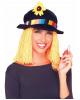 Clown Hat With Hair & Spray