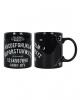 Black Ouija Board Coffee Mug