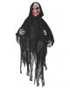 Schwarzer Pest Reaper mit leuchtendem Totenkopf