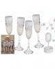 Champagne Glass Bubbles 4 Pcs.
