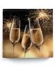 Napkins champagne glasses gold 20 pcs.