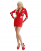 Sexy Pitsluder Costume Red