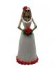Skelett Braut 15 cm