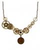 Steampunk Cogwheel Chain As Costume Accessory