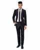 Suitmeister Solid Black Anzug