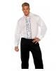 Tuxedo Kostüm Hemd weiß