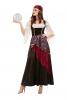 Fortune Teller Ladies Costume Deluxe