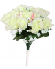 White Bridal Bouquet Costume Accessories