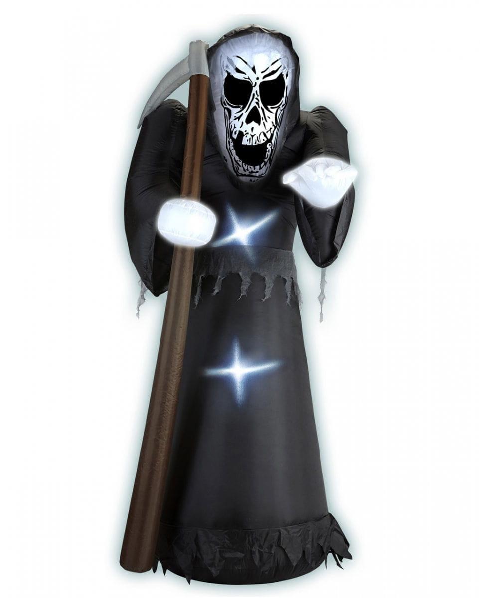 Aufblasbarer Geist Dekoration Halloween Weiß