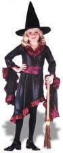 Ruffel Witch Child Costume. L