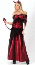Teufels Hexe Kostüm Gr. SM 36-38