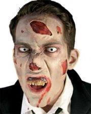 Zombie Nasen Wunde