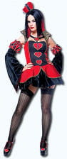 Queen of Hearts Costume Size L